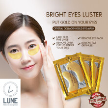 Lune Crystal Collagen Gold Powder Eye Mask