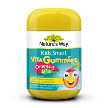 Nature's Way KS Gummies Omega + Multi 50 Pastilles