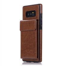 MOONMINI Samsung Galaxy Note 8 2017 Back Case Leather Anti-scratch Phone Protective Case with Card Slot