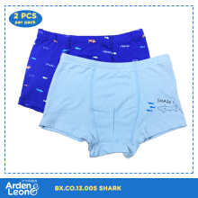 Arden&Leon Celana Anak Boxer Laki Laki M-XL (2 pcs) Shark Collection BXCO.13.005