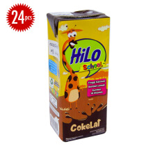 HILO School Cokelat 200ml x 24pcs