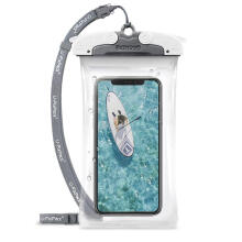 RINGKE U-Fix ROUND Waterproof Universal Phone Case (Small) - Gray