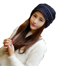 SiYing fashion color matching layer men and women autumn and winter pullover hat