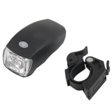 [kingstore]Cycling Bike Bicycle Super Bright 5 LED Front Head Light Lamp 3-Modes Black Black