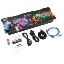 COZIME Pro 999 in 1 Classical Arcade Games Station with Super High Video Resolution Black  UK plug 2#