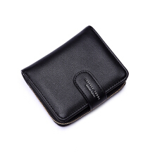 Keness 1612 2018 new ladies wallet simple fashion short wallet zipper purse