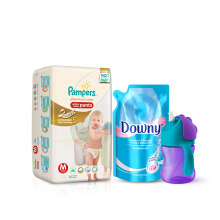 AVENT x PAMPERS Exclusive Package - Medium 46 (Girl)