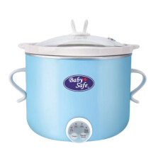 Baby Safe Slow Cooker Digital 0.8L - Blue