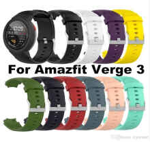 Huami Amazfit Verge Smart Watch Sporty Silicone Strap Varian Black