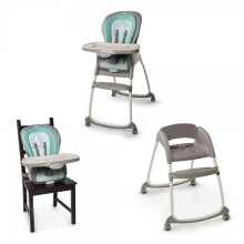 [free ongkir]Bright Starts Ingenuity Trio 3 in1 Deluxe High Chair – Cambridge