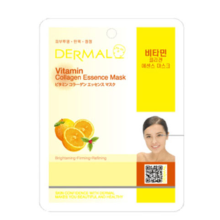 Dermal Vitamin Collagen Essence Mask 10pc
