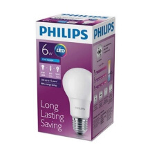 PHILIPS LED BULB 6W CDL E27
