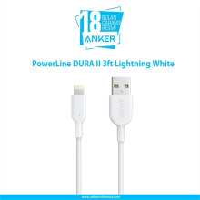 ANKER Kabel data PowerLine II 3ft Lightning iPhone Hitam - A8432H11
