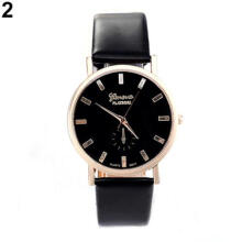 Farfi Men Women Casual Geneva Analog Quartz Business Wrist Watch