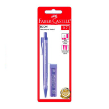 FABER-CASTELL 134301 Eco Mech Pencil 0.7 Blister Transparant (Random Color)