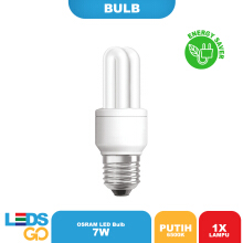 Osram Lampu Hemat Energi Dulux Value Stick 7 Watt Putih