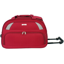 Polo Hunter Tas Kabin Trolley - Duffle Bag with Trolley - Tas Pria Tas Wanita Travel Bag Trolley EIA Size 19 inch