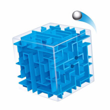 Anamode 3D Maze Magic Cube Puzzle Mini Three-dimensional Speed Cube -Onesize -