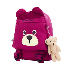 [COZIME] Unisex Bear Design Children Backpack Children School Bag With Bear Pendant Others1