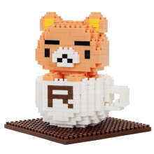 Qcf Bricks 9843 Rillakuma White Cup Multicolor
