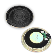 AOSEN 2PCS Magnet Speaker 2W 8 ohm 36mm Metal Shell Internal Type Black and Golden