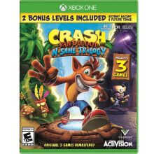 MICROSOFT Xbox One Game - Crash Bandicoot N. Sane Trilogy