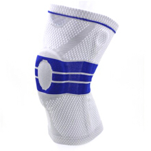 Jantens 1PC Grey Elastic Pads Basketball Safety Guard Strap Protector Silica Gel