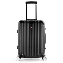 CROSSGEAR 20 inch Travel Luggage Rolling Suitcase TSA Lock ABS Material High End Aluminium Frame (carrying to the plane) CR-1303