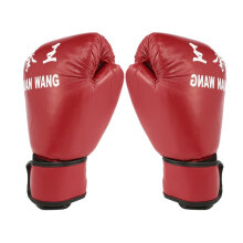 Adult Boxing Gloves Professional Sandbag Liner Gloves Kickboxing Gloves Red