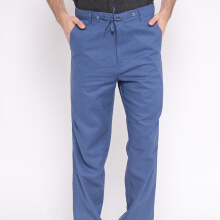 STYLEHAUS Drawstring Pants - Blue Denim