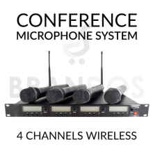 Professional Microphone Conference (4 Mic Wireless) Lerrdet K-4480