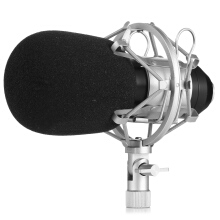 LEIHAO BM - 800 Condenser Sound Recording Microphone and Metal Shock Mount for Radio Broadcasting Studio Voice Recording