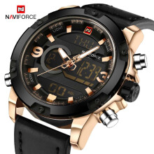 NAVIFORCE Men Fashion Luxury Brand Quartz Wristwatches Men's Military Digital Watch Sports Watches Clock Male Relogio Masculino