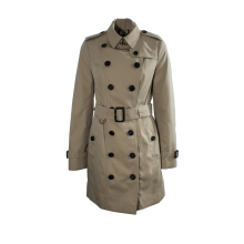Burberry The Sandringham Mid Length Heritage Trench Coat Outerwear