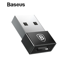 Baseus USB Male to Type C Female Cable OTG Adapter Converter Notebook Type-C Female to USB Male Charger Plug Data OTG Adapter - Black USB to Type C ( Male to Female)