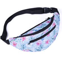 [COZIME] Trendy Casual Women Sport Running Hiking Pouch Bag Ladies Waist Holder Bag Multi-Color Mixed1