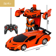BLINGO X02 Rc Transformer 2 in 1 RC car driving sports car driving transformation robot model remote control car RC fighting