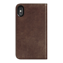 Case iPhone XS / Case iPhone X Nomad Leather Folio Casing - Brown