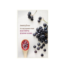 INNISFREE It's Real Squeeze Mask #Acai Berry