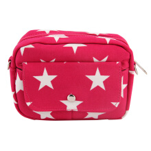 [LESHP]Fashion Women Clutches Canvas Mini Small Messenger Shoulder Bag Rose Red