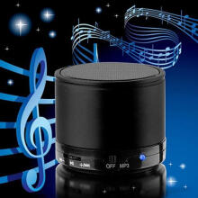 Farfi Portable Wireless Speaker Mini Bluetooth Speaker for iPhone MP4 MP3 Tablet PC as the pictures