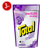TOTAL Matic Liquid Detergent Front Load 2L x 3pcs