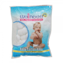 [free ongkir]Wellness Cotton Balls Kapas Bayi - 100pc