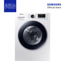 SAMSUNG MESIN CUCI  FRONT LOAD WW80J54E0BW/SE 8KG [SAMSUNG ONLINE PRIORITY]