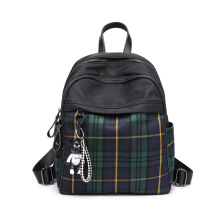 SiYing Fashion plaid bag Korean version of the children's bag