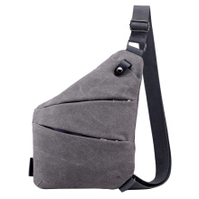 SiYing Korean canvas men's chest bag outdoor sports shoulder Messenger bag