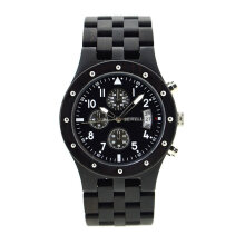 Quartz watches Men's Watch BEWELL Waterproof Men Wristwatch Wood Sports Watch Date Display Quartz Watch