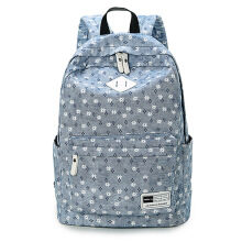Keness Korean student backpack canvas backpack Trend travel sports backpack