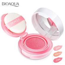 Bioaqua Blush On Cushion Smooth Muscle Flawless #2 - Peach Pink