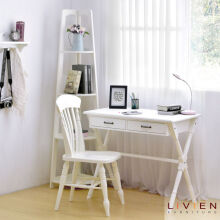 LIVIEN Furniture - Avilla Mini Desk / Meja Belajar / Meja Kerja - White